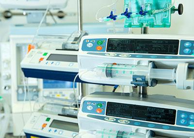 Pompe ad infusione per somministrazione di farmaci ed anestetici